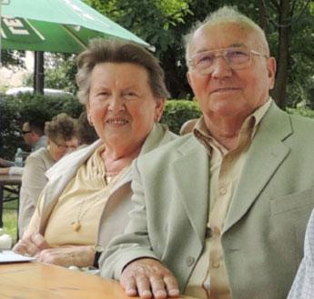 Richard Stein und Frau