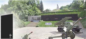 Die Seelower Höhen war die letzte deutsche Ostfront gegen die russische Übermacht. – Am Ortsausgang von Seelow befindet sich die durchaus sehenswerte Gedenkstätte um den Kampf der Seelower Höhen.