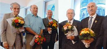 (v.l.) O.-K. Barsch, H. Igel, R. Stein, H. Munkow, S. Kubiak