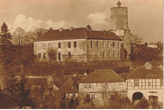 Johanniterschloss Lagow Foto: Kurt Vollmar (1932)