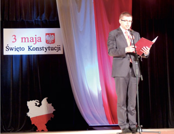 Begrüßung durch Bürgermeister D. Ejchart